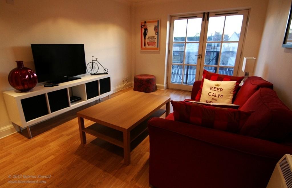 Hackney living room