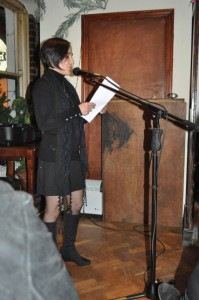 reading at Obheal open-mic